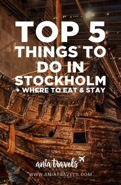 I fell in love with Stockholm, Sweden. Here's a list of the top 5 things to do in Stockholm + where to eat and stay to get the most out of your holiday.