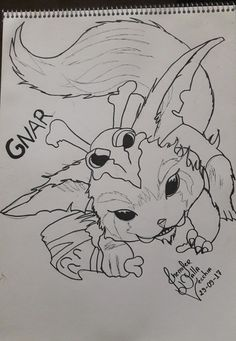 League of Legends (gnar character)