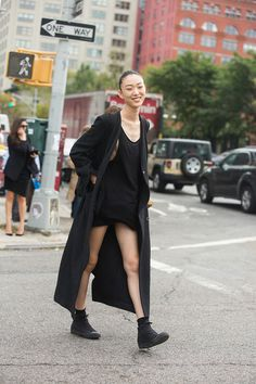 Street style: Choi Sora at NYFW Spring 2015 shot by Melodie Jeng
