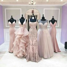 prom dresses from Mimi's Bridal & Boutique Pretty Prom Dresses, Pink Prom Dresses, Backless Prom Dresses, Quinceanera Dresses, Dance Dresses, Ball Dresses, Elegant Dresses, Cute Dresses, Beautiful Dresses