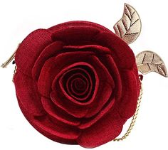 Danielle Nicole X Beauty and the Beast Linen Rose Crossbody Bag Cute Crossbody Bags, Crossbody Shoulder Bag, Disney Gifts For Adults, Danielle Nicole Disney, Disney Dapper Day, Disney Handbags, Red Shoulder Bags, Red Purses, Beauty And The Beast