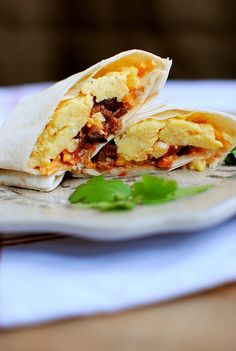 Frozen Breakfast Burritos take just 30 minutes to make! Assemble on the weekend then reheat and enjoy all week long.