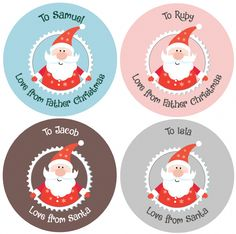Make Christmas wrapping easier with our fabulous personalised Christmas stickers Children will love to see their presents lovingly wrapped with a Christmas Cover, Christmas Stickers, Father Christmas, Paper Party Bags, Calendar Stickers, Personalized Stickers, Name Tags, Logo Sticker, Christmas Wrapping