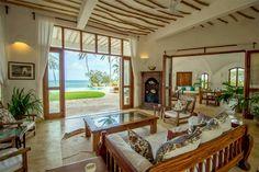 Shwari House, Watamu, Kenya - a spectacular beachfront holiday home available to rent at www.eastafricanretreats.com