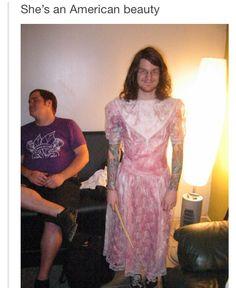 Prom Queen Andy Hurley ladies and gentlemen... yeah that actualy happened.