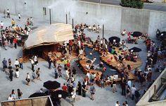 // water, shelter, humble materials // Dunescape at MoMA PS1 | SHoP