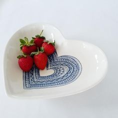 Handmade Clutch, Outdoor Events, Black Heart, Event Styling, The Dish, Wedding Table, Serving Bowls, Heart Shapes, Strawberry