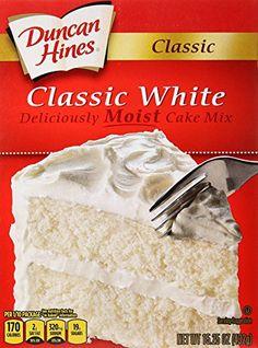 Duncan Hines Classic Cake Mix, Classic White, 15.25 oz DU... https://www.amazon.com/dp/B0165V1C5Y/ref=cm_sw_r_pi_awdb_x_taAHzb4F5RNBT