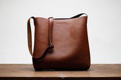 Leather Tote Bag, Small, Shoulder Bag, Crossbody, Cross Body, Satchel, Brown, Laptop, MacBook