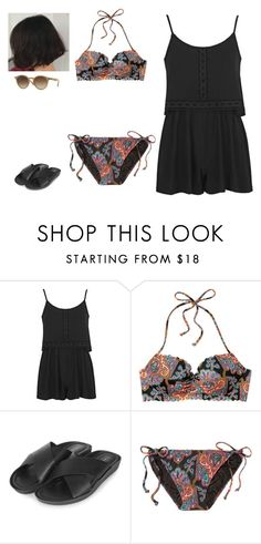 """Untitled #271"" by erin-bittencout on Polyvore featuring moda, Topshop, Victoria's Secret e Ray-Ban"