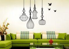Idées mur peint à rayures moderne conceptions  moderne peintures idées peintures idées salon peintures idée