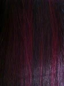 black hair with dark burgandy highlights - Yahoo! Image Search Results