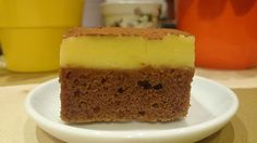Jednoduché rychlořezy s jogurtovým krémem   NejRecept.cz Cheesecake, Cooking Recipes, Pudding, Sweet, Food, Candy, Cheesecakes, Chef Recipes, Custard Pudding