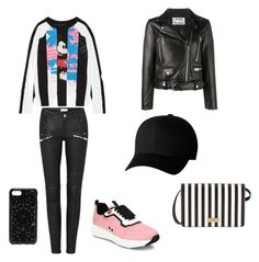 """""""Full of stripes"""" by sweptbystorm on Polyvore featuring Marc Jacobs, Prada, Acne Studios, Flexfit, Felony Case and Henri Bendel"""