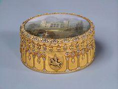 marinni | Табакерки из Эрмитажа. Часть 1Табакерка с миниатюрами Золото, стекло, эмаль; литье, чеканка, роспись.