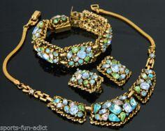 Barclay Jeweled Parure Necklace Bracelet Earring Parure Set $200 sports-fun-addict Feb 23-2014