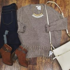 Casual and comfy is our favorite combination  Top: Item 921BM3 $54 // Denim: Item 921BM4 $77