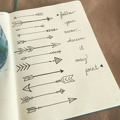 """Just a little morning #motivation for ya! """"Follow your arrow... Wherever it may point."""""""
