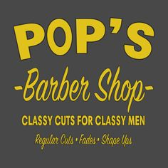 Pop's Barbershop Luke Cage T-Shirt
