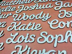 Custom Wooden Word 5cm - Susa Font Plywood Words Wooden Words, Susa, Letter Size, Plywood, Texts, Letters, Shapes, Crafty, Hardwood Plywood