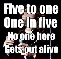 Five to One.  The Doors 1968