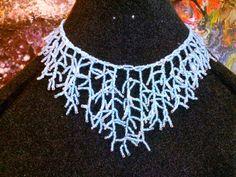 Collana di perline di vetro di GariaBijouxHandMade su Etsy, €18.00