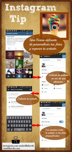 Una manera diferente de utilizar Instagram. #Instagram #RedesSociales