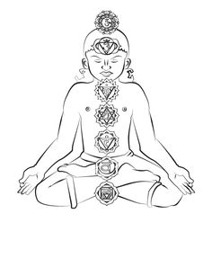#Kids #Yoga Chakra Coloring Page in the Storytime Yoga Kids' Club