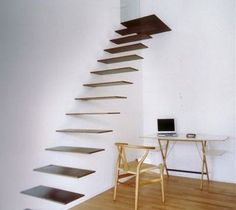 To bed interior design, float staircas, stairs, stair design, stairway, architectur, dream, staircase design, hous