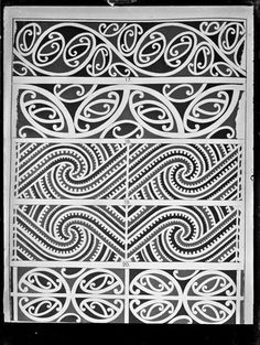 The most beautiful ornaments of the world Maori Designs, Doodles Zentangles, Ta Moko Tattoo, Maori Patterns, Geometric Patterns, Maori Symbols, Cultural Patterns, Polynesian Art, New Zealand Art