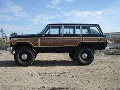 You have to strive to earn your Jeep a type of vehicle that could offer comfort, luxury and fashion. Jeep Wagoneer, Jeep Willys, Jeep Tj, Jeep Truck, 4x4 Trucks, Lifted Trucks, Chevrolet Van, Cool Jeeps, Jeep Liberty