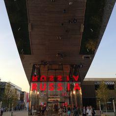 Russia Pavilion, Expo 2015 #expo #russia #pavilion #Milan #feedingtheplanet #energyforlife