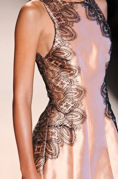 Lela Rose Spring 2014 - Details