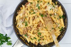 Ideas For Pasta Recepten Chorizo Best Pasta Recipes, Chicken Pasta Recipes, Stuffed Shells Recipe, Stuffed Pasta Shells, Spinach Bake, Baked Vegetables, Good Enough To Eat, Italian Recipes, Macaroni And Cheese