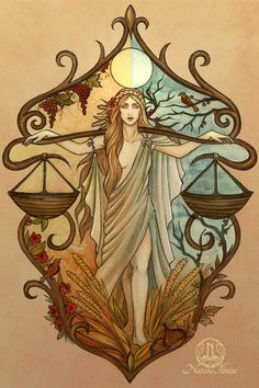 We are but two days away from the Autumn Equinox, but I thought I'd post this today to wish happy Mabon to those of you who are celebrating it today The smell of crisp air, comfy jumpers, cin. We are but two days away from the Autumn Equ Mabon, Samhain, Magick, Witchcraft, Vexx Art, Libra Tattoo, Autumnal Equinox, Pagan Art, Alphonse Mucha