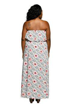 6b3f4fa7ff7 Hadari Womens Plus Size Off Shoulder Floral Long Maxi Romper Dress -- Check  out the