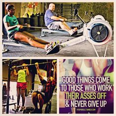 Motivational Photos, Fit Chicks, Rowing, Health Motivation, Beast Mode, Train Hard, Crossfit, Muscles, Protein