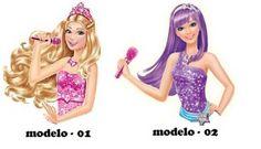 Aplique 5cm Busto Barbie Pop Star | DIVA PERFEITA ARTESANATOS E PERSONALIZADOS | Elo7