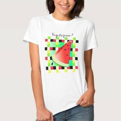 (Watermelon Picnic Slice T-shirt) #Aqua #Black #Bold #Checkered #Color #Colorful #Farm #Fashion #Food #Fruit #Fun #Garden #Green #Grocery #Juice #Multicolor #Natural #Organic #Party #Pattern #Picnic #Print #Produce #Red #Repeat #Seed #Seeds #Spring #Summer #Sweet #Tropical #Vector #Vegetarian #Vitamins #Wallpaper #Watermelon #White #Yellow is available on Funny T-shirts Clothing Store   http://ift.tt/2d7qVHv