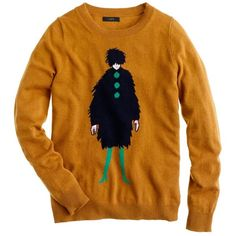 La Parisienne Sweater (610 CNY) found on Polyvore  angora sweaters 安哥拉羊毛衫 20121218