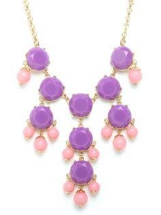 bubble necklace / baublebar