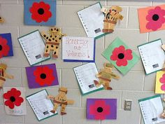 veterans day...acrostic poem and poppy craft.  reading buddies activity?