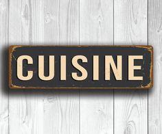 CUISINE SIGN Cuisine Signs CUISINE Decor Restaurant Sign