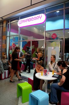 T & Serendipity: Wakaberry Opens in The Zone Rosebank! The Zone, Serendipity, Restaurants, Shops, Diners, Tents, Restaurant, Retail Stores