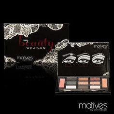 Motives Beauty Weapon palette from Makeup Frenzy:  https://www.facebook.com/MakeupFrenzy?fref=ts