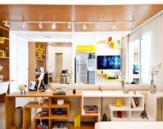 Projetos de apartamentos pequenos para você se inspirar - Revista Casa Linda