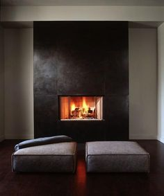 9 Magical Cool Tips: Small Fireplace Stairs large fireplace victorian.Fireplace Design Entertainment Center fireplace and mantels wood beams.Fireplace And Mantels Interior Design. Metal Fireplace, Black Fireplace, Living Room With Fireplace, Fireplace Surrounds, Fireplace Ideas, Simple Fireplace, Bedroom Fireplace, Modern Fireplaces, Concrete Fireplace