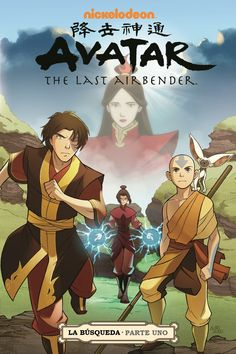 Comic Avatar la leyenda de Aang: La Búsqueda (Parte1) - Taringa!