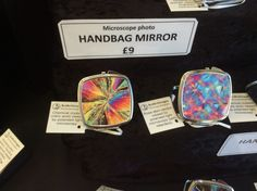 Purchased one of these for an arty friend for #Christmas - Very cool! #art #science #jewellery @HarrogateFlower