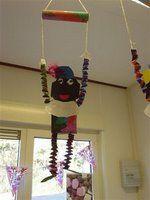 Crafts For Kids, Diy Crafts, Crafty Kids, Craft Activities, December, Christmas Ornaments, Halloween, Holiday Decor, School